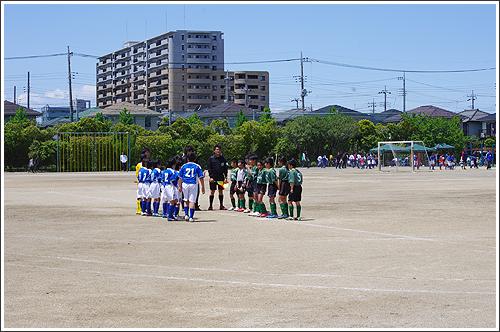 週末は子供のサッカー大会でした