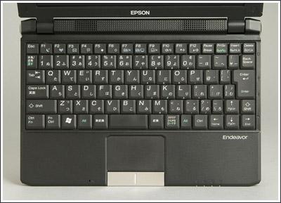 Endeavor Na01 miniは[Ctrl]⇔[Fn]の入れ替えが可能