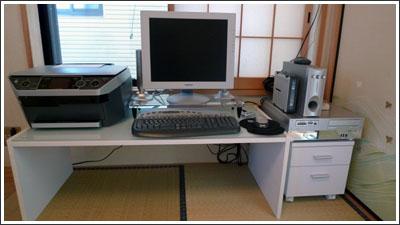 自宅のパソコンデスクをサンワサプライのGSL-110にしました!