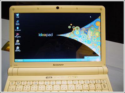 IdeaPad S10eはLenovoであって、ThinkPadではない