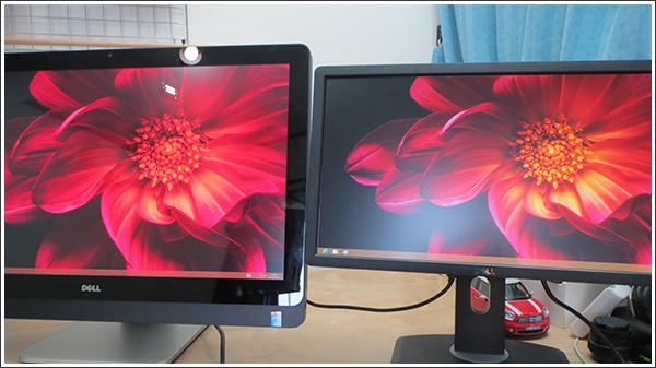 デルのXPS 27はデュアルモニター対応の液晶ディスプレイ一体型パソコンだった!!