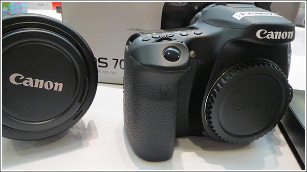 発売前の新機種「Canon EOS 70D」に触れてきました!!