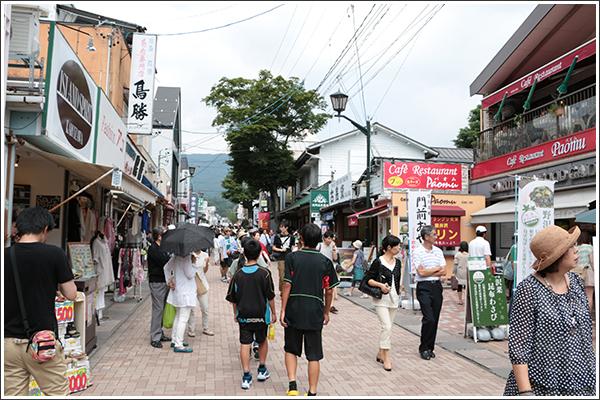 旧軽井沢をブラブラ散歩(でも暑かった)Photo by CANON EOS 70D