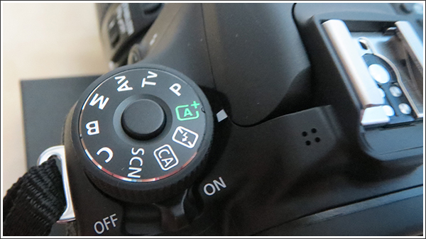 Canon EOS 70D オートモード