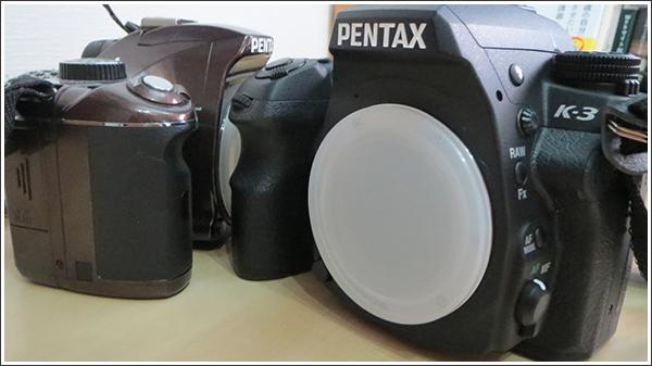 PENTAX K-3とPENTAX K-xを実機比較してみた!!