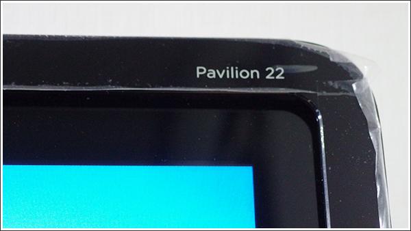 HP Pavilion 22-h140jp TouchSmartのモニター機は実用性重視の設定だった