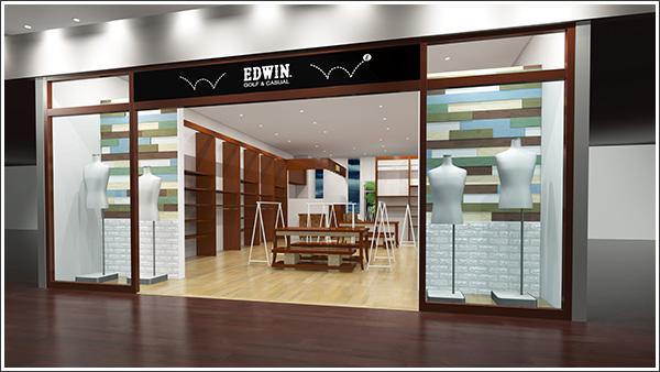 ジーンズのエドウインがノンデニムの新コンセプトショップ「EDWIN GOLF & CASUAL 銀座店」をオープンします!
