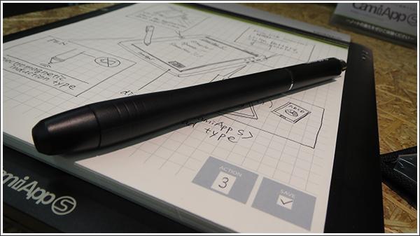 紙に書いてチェックするだけでデータ化されるコクヨのデジタルノート「CamiApp S」