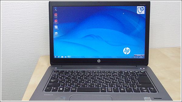 HP EliteBook Folio 1040 G1は今でもWindows7が選択可能(それはそれで…だけど)