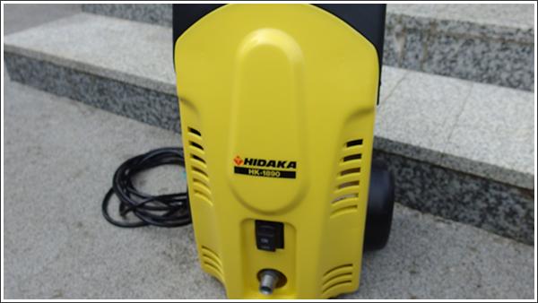 ヒダカの高圧洗浄機「HK-1890」を使うときは水栓と電源との距離がポイント
