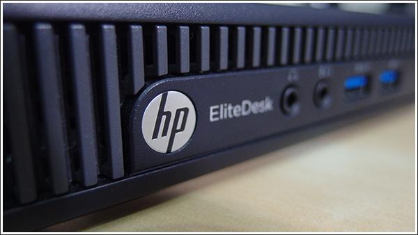 HP EliteDesk 800 G1 DM/CTはスーパーコンパクトなデスクトップ