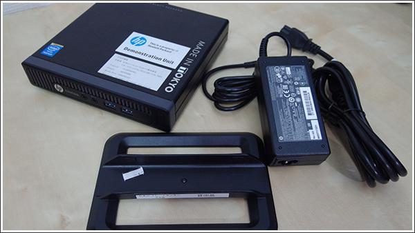 HP EliteDesk 800 G1 DM/CTをデュアルモニタでつないでみた