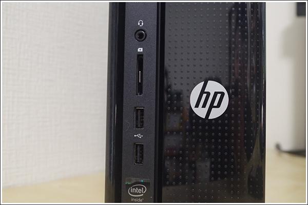 日本HPの「HP Slimline 450-120jp/CT」はスリムな中に必要なものが詰まった使い勝手のいいパソコン