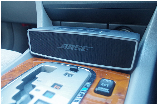 BOSEの「SoundLink Mini Bluetooth speaker II」をクルマで使ってみた