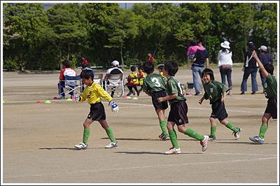 PENTAX K-xで子供のサッカーを撮ってみた