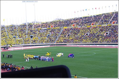 富士通 ARROWS Tab Wi-Fiはサッカー観戦のお供にオススメ!!