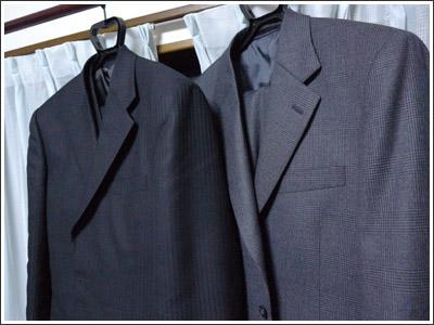 スーツのポケットの柄が合っていたのに職人の拘りを感じた