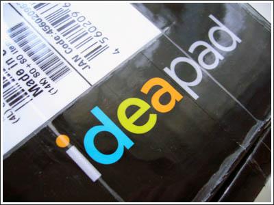 IdeaPad S10eがやってきた