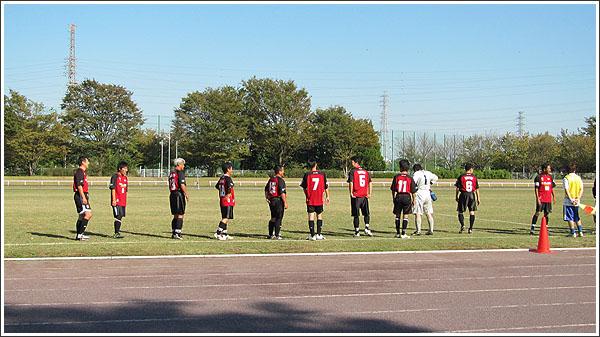 昨日は市民体育祭 サッカー大会の第2戦でした
