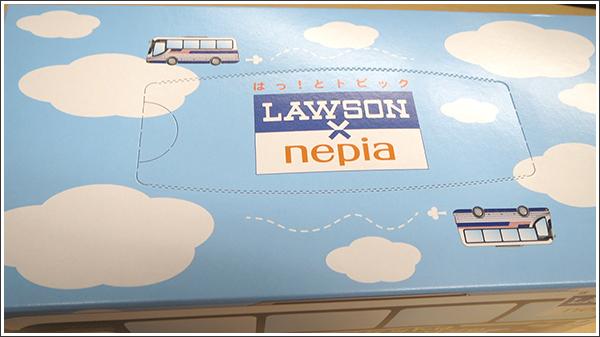 LAWSONが箱ティッシュを使ってLoppiを宣伝している件(しかも有料で)