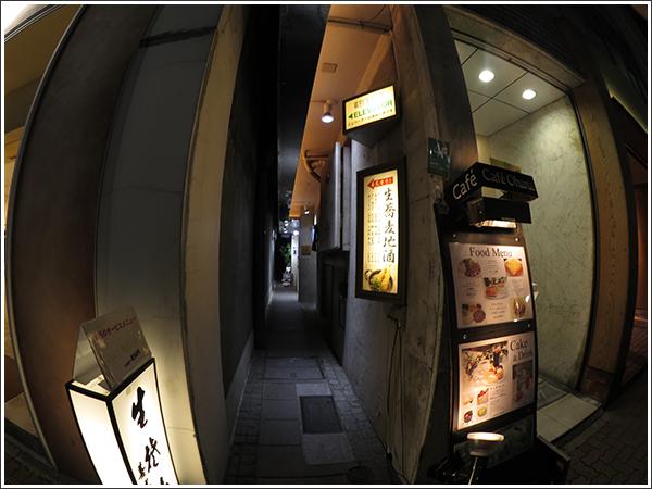 キヤノン iVIS miniで銀座の路地を撮影してみた