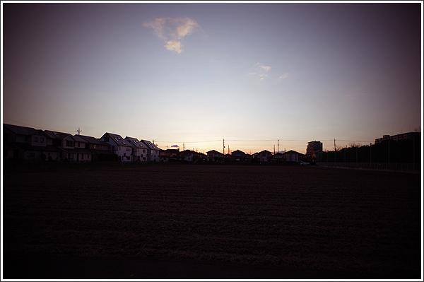 露出補正の値で夕焼けの表情も変わる Photo by PENTAX K-3 & HD PENTAX-DA 15mmF4ED AL Limited
