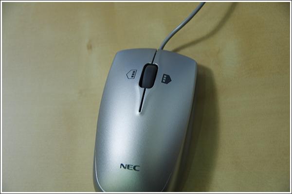 NECの標準マウスがWindows8にとても優しかった
