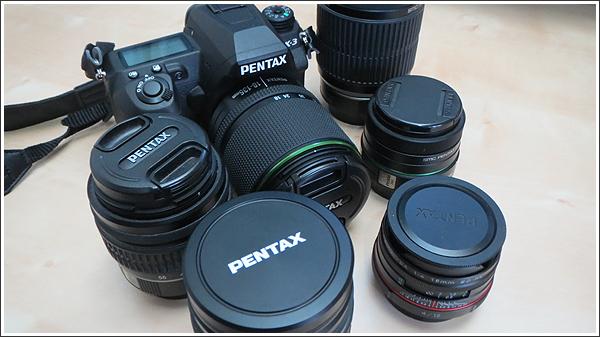 Kマウントレンズ6本を使用して、写真の違いをチェックしてみた Photo by PENTAX K-3