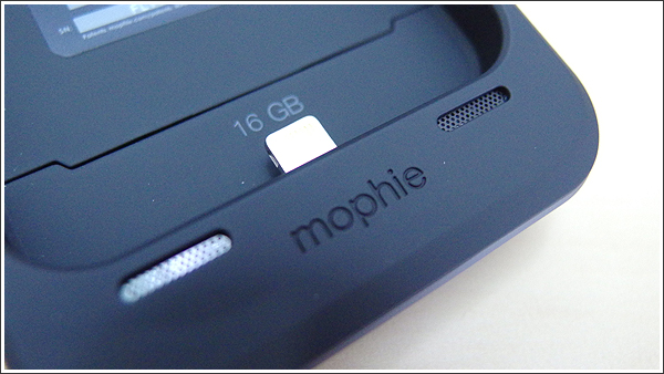 mophie space packのファイル管理は専用アプリ「Space」が必須