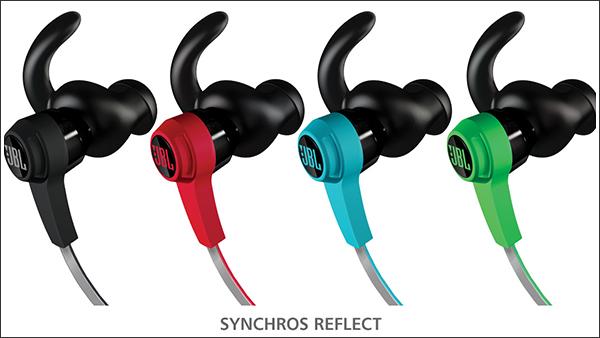 JBL初のスポーツヘッドホン「SYNCHROS REFLECT(シンクロス リフレクト)」シリーズがソリッドでいい感じ