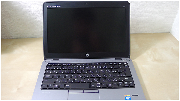 HP EliteBook 820はバランスの良いビジネスモバイルノート