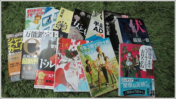 2014年6月の読了数は12冊、若干のペースダウンも発見もあった